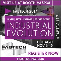 Join Us at FABTECH 2017