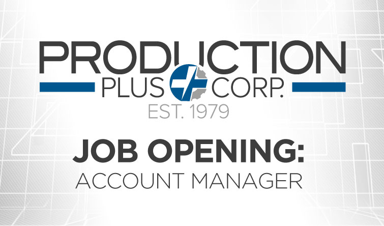 Job Opening – Account Manager